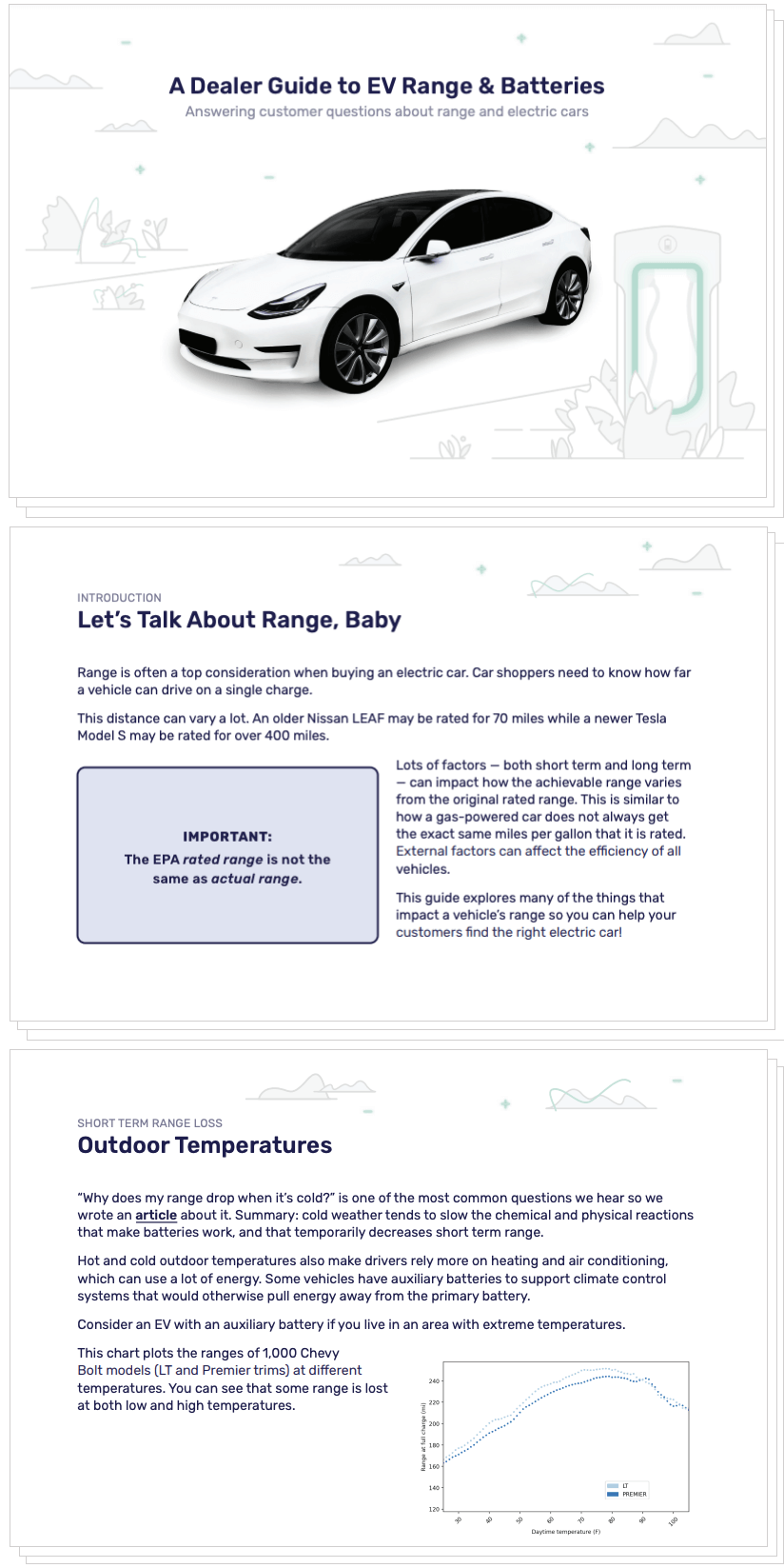 White paper on EV range for car dealers