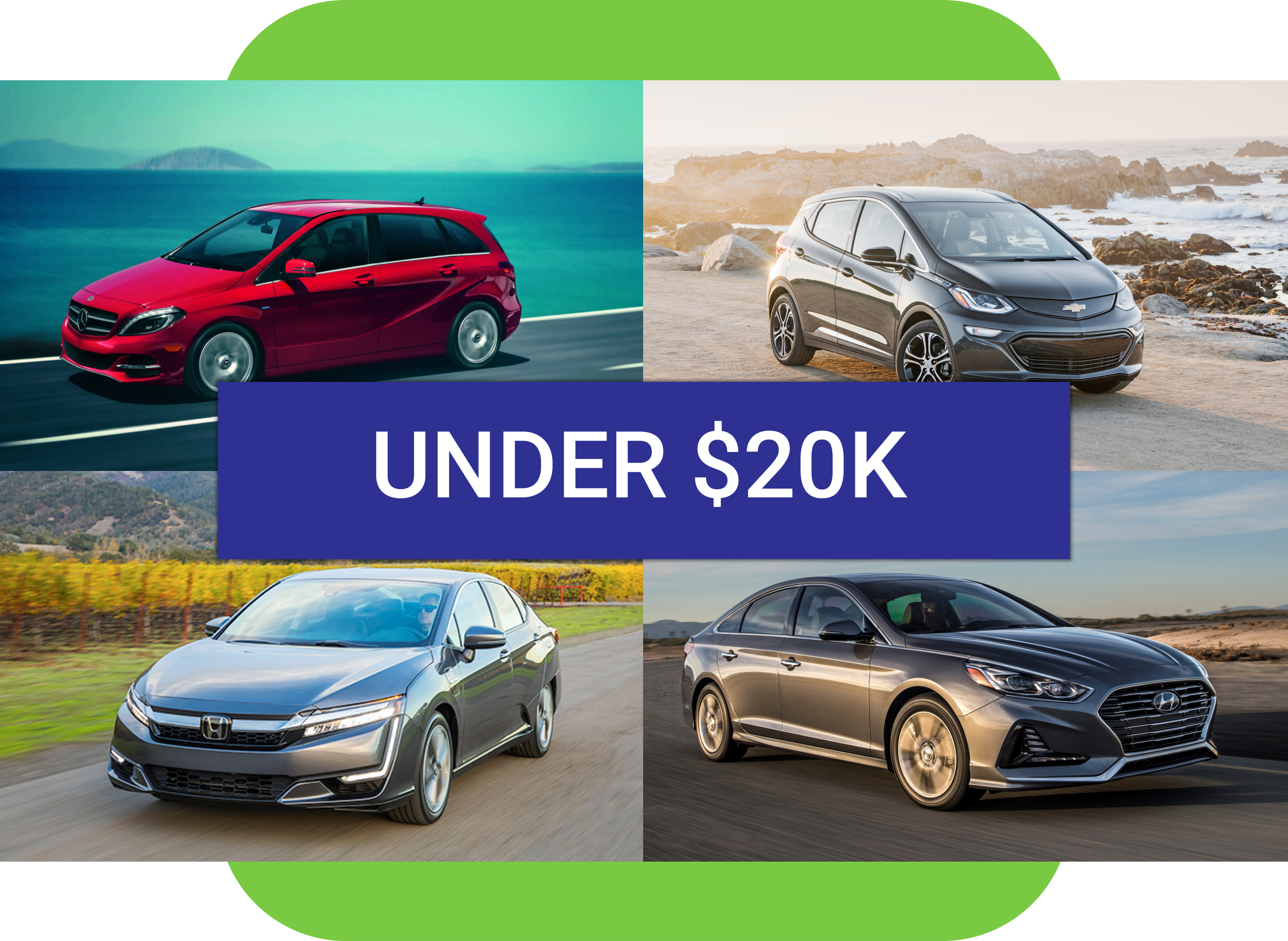 Best used EV under $20k