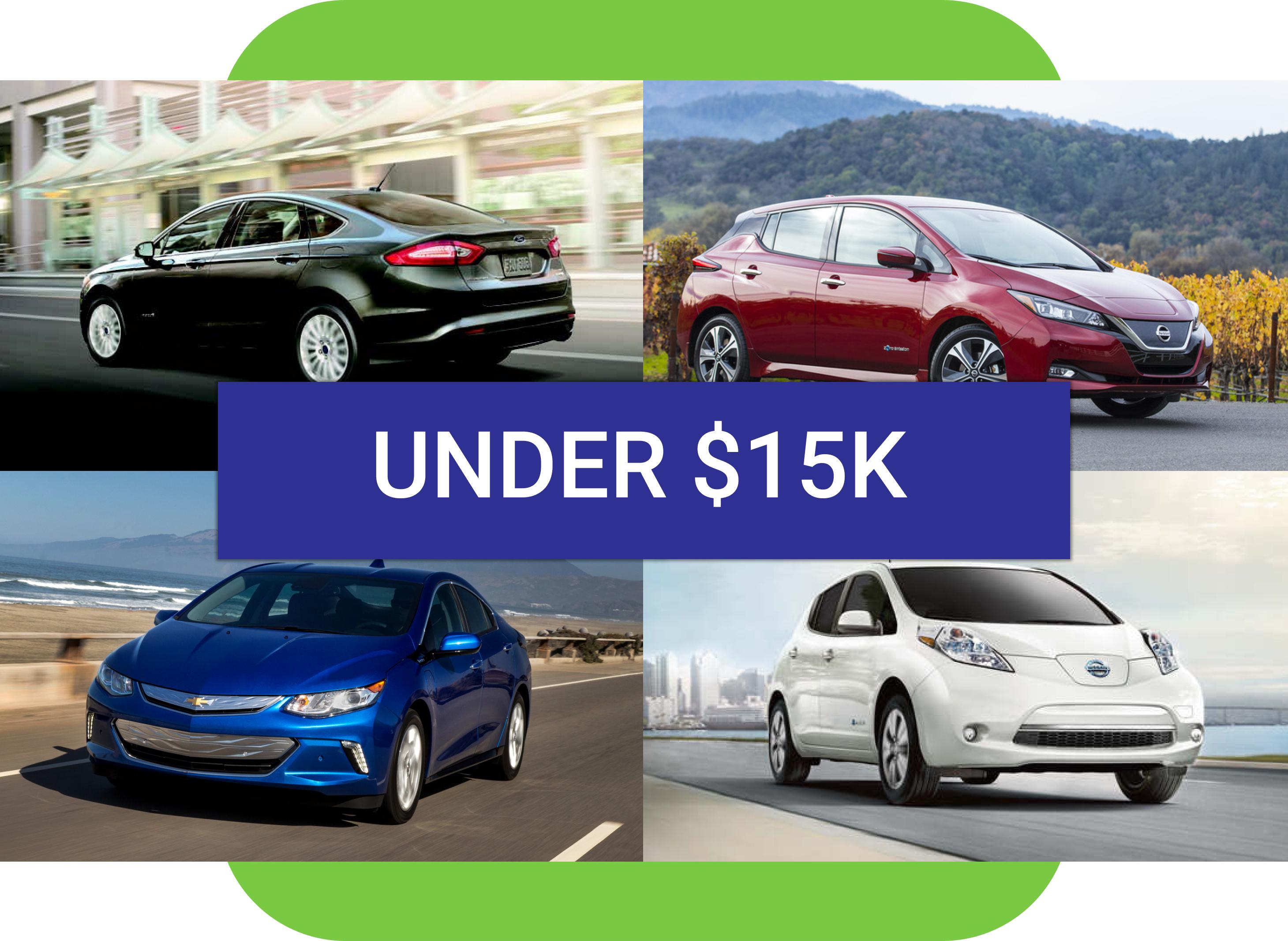 Best used EV under $15k