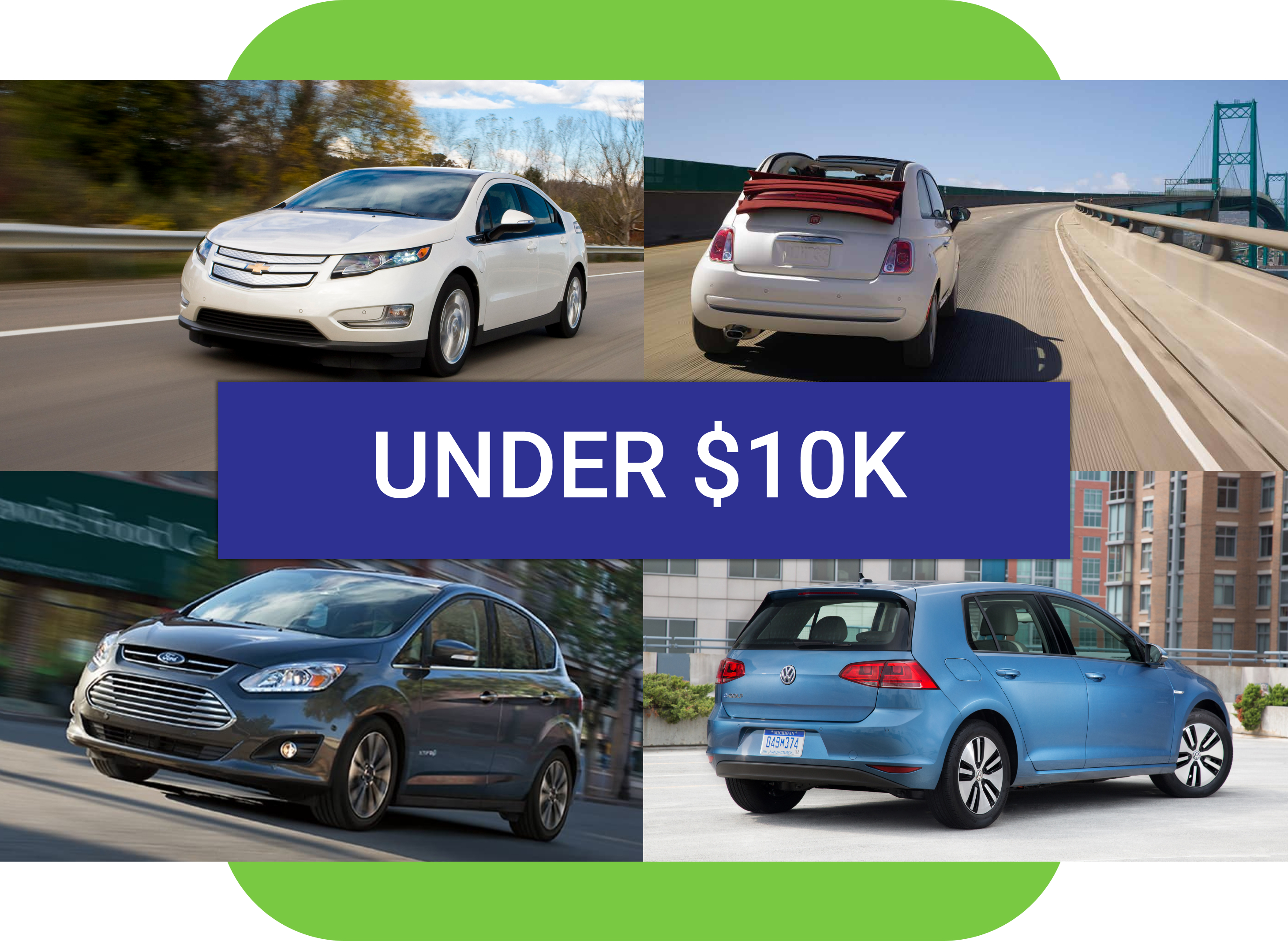 Best used EV under $10k