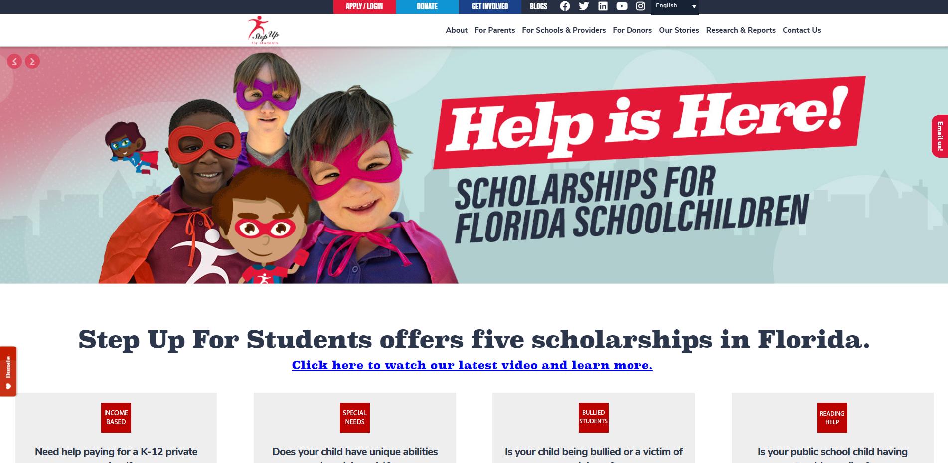 web design for nonprofit organizations
