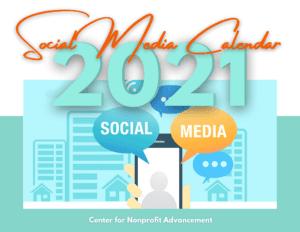 best nonprofit consulting providers of social media content calendars
