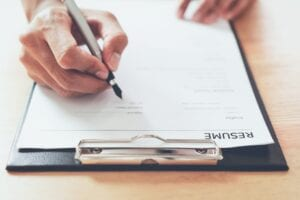nonprofit consulting agency assemble a committee to help review resumes when hiring for a new nonprofit