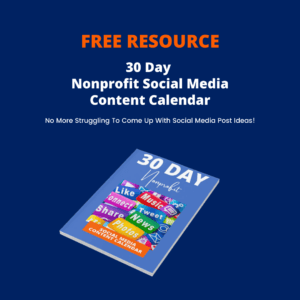 30 day nonprofit calendar