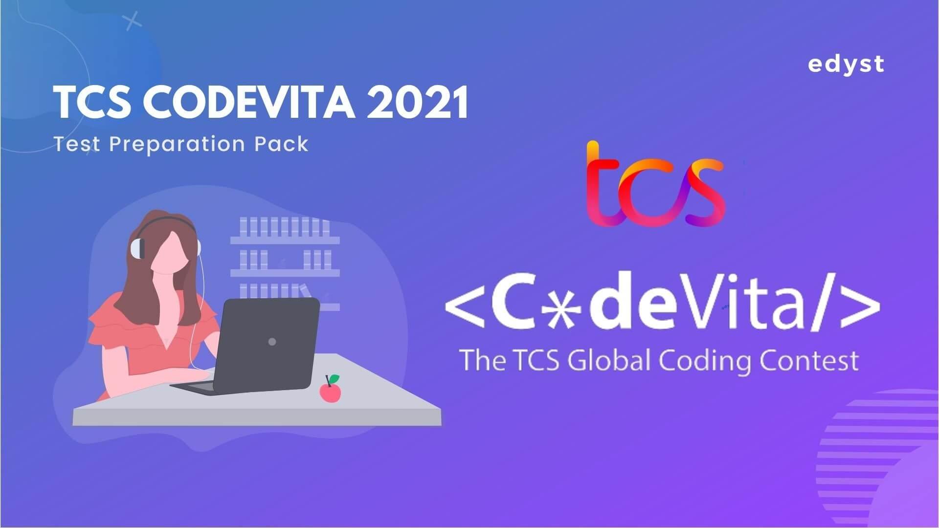 TCS CodeVita 2021 Test Preparation Pack
