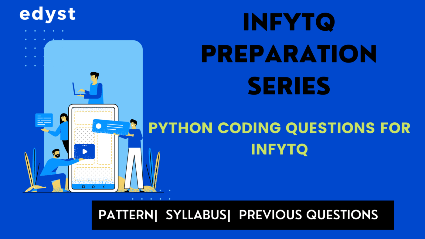 Python Coding Questions for Infytq 2022