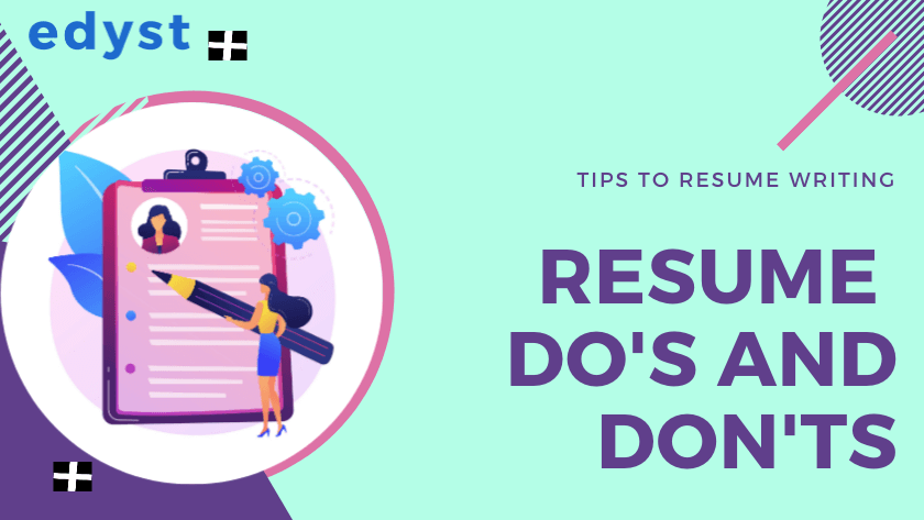 Resume Do's and Don'ts   Tips   Edyst
