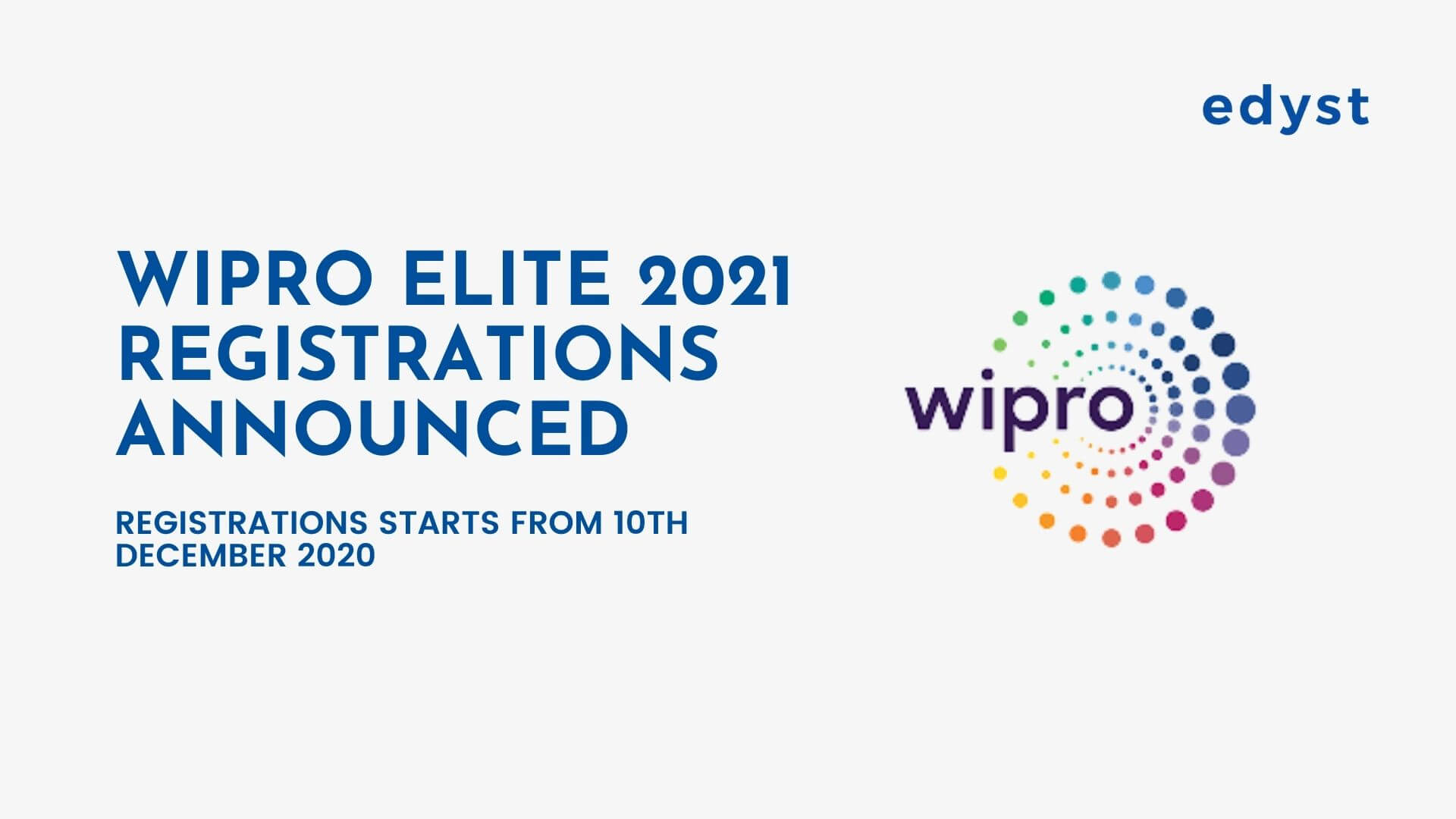 Prepare for India's Biggest Recruitment Drive - Wipro Elite NLTH 2021
