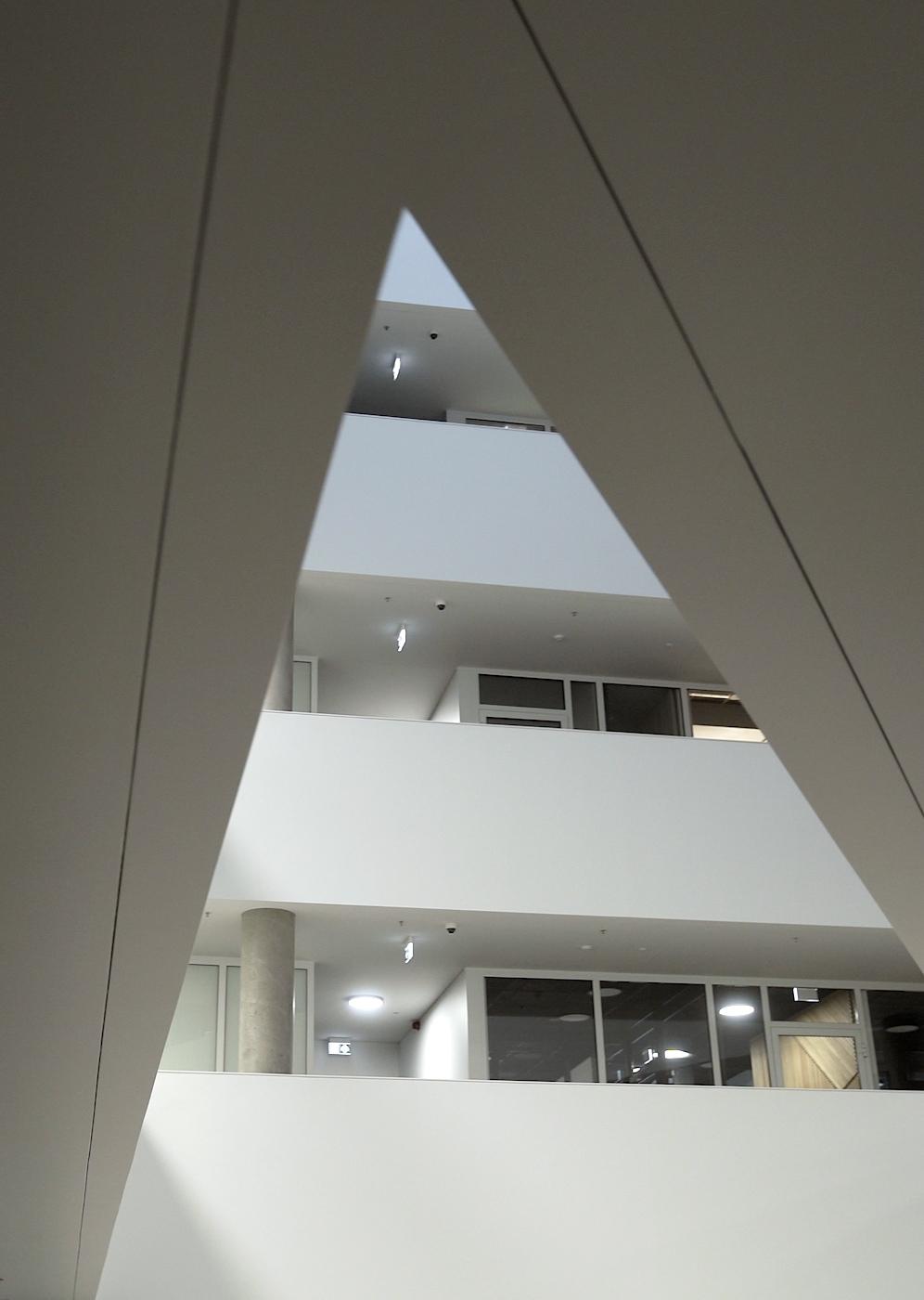 Modern Architecture white lobby