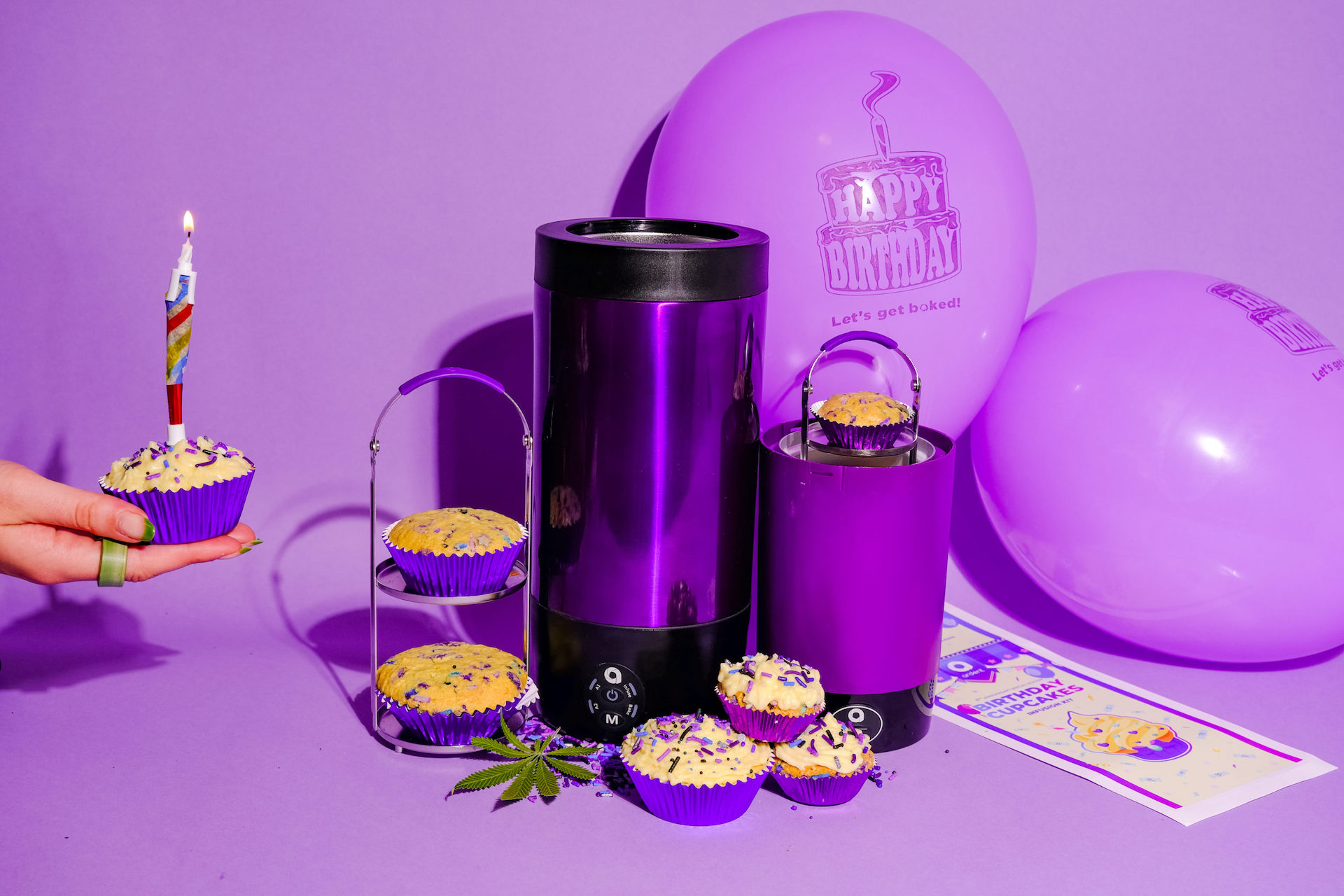 Ardent Infused Birthday Cupcake Kit - My Personal Plants