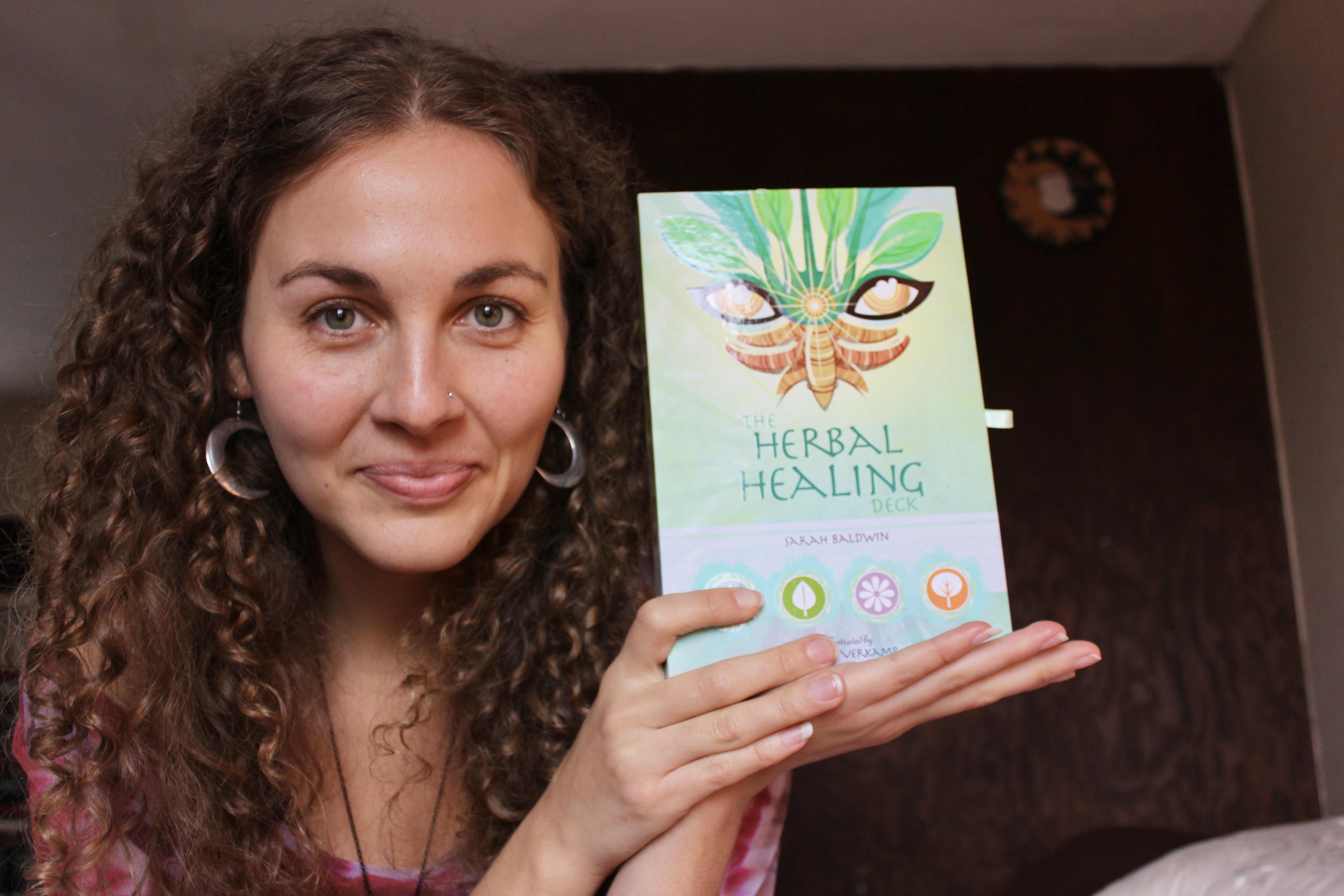 Sarah Baldwin: Herbal Healing Deck - My Personal Plants