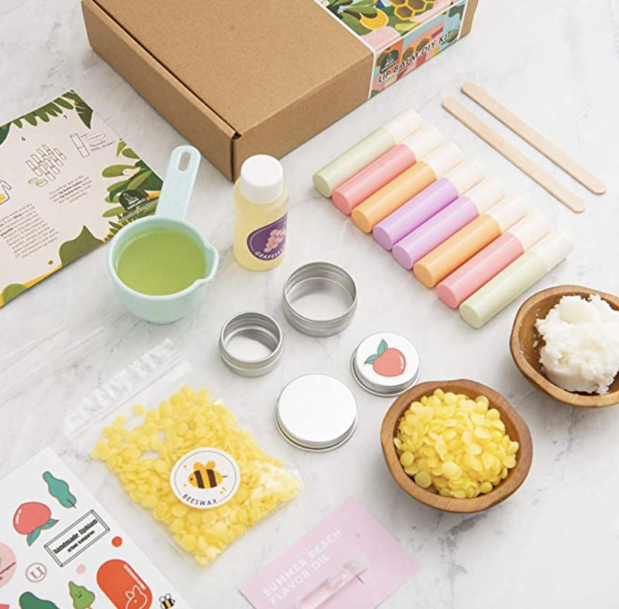 All Natural Lip Balm Kit - My Personal Plants