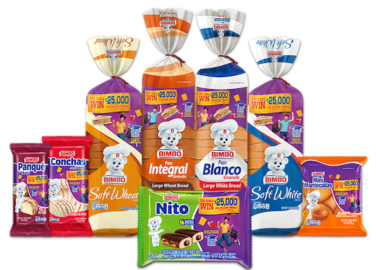 Bimbo® Products   Click Here