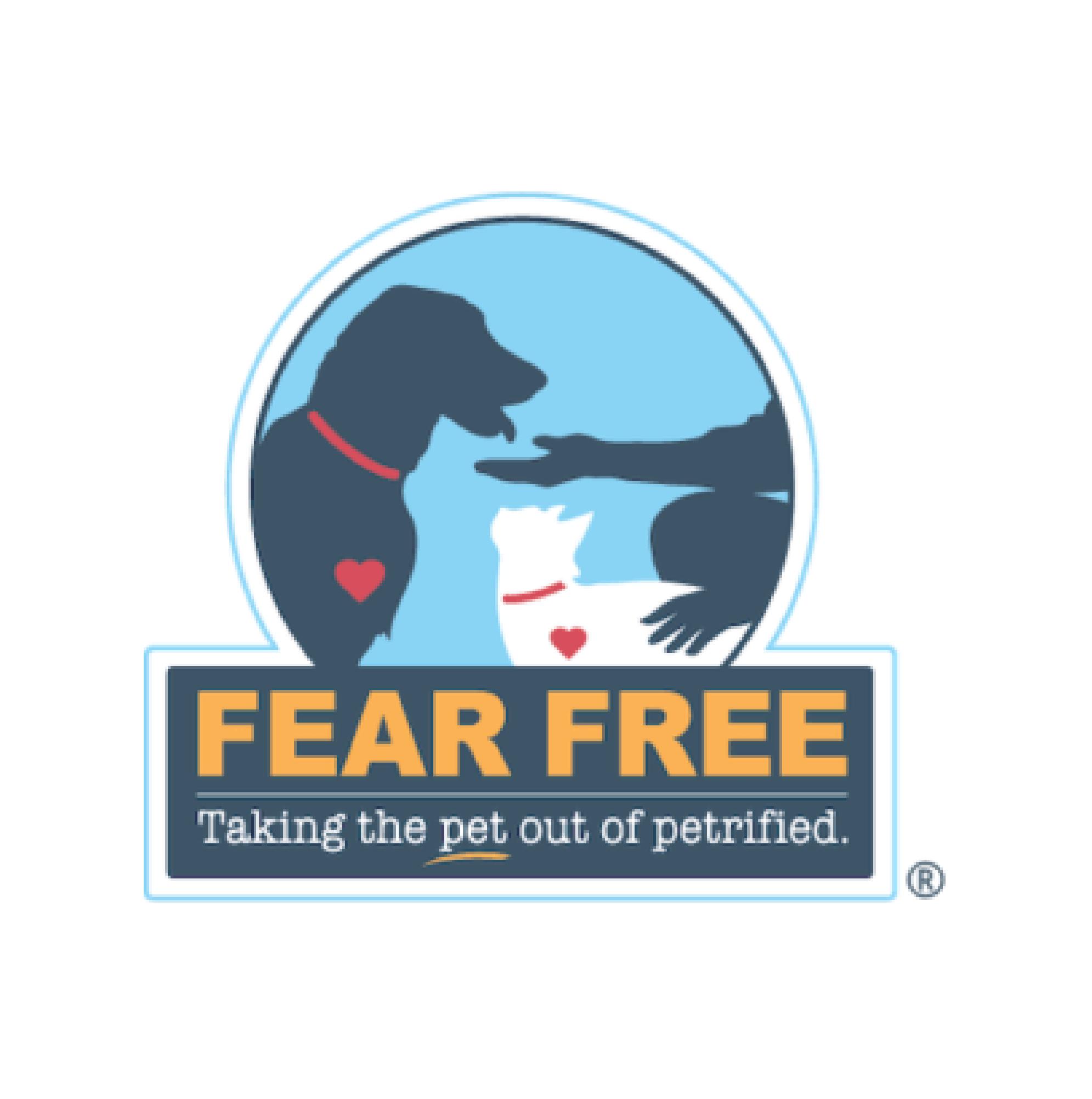 Fear free logo.