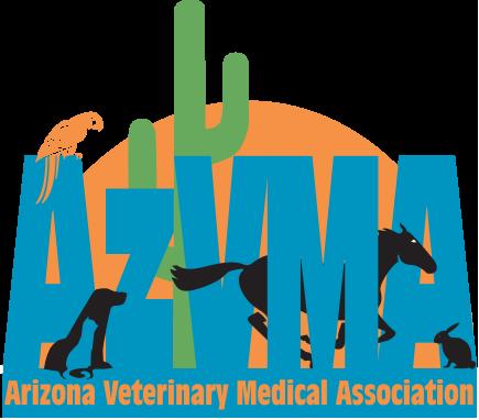 Arizona Veterinary Medical Association logo.