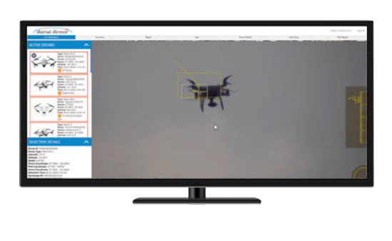 silent sentinel drone detection interface