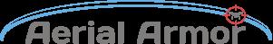 aerial armor dark logo