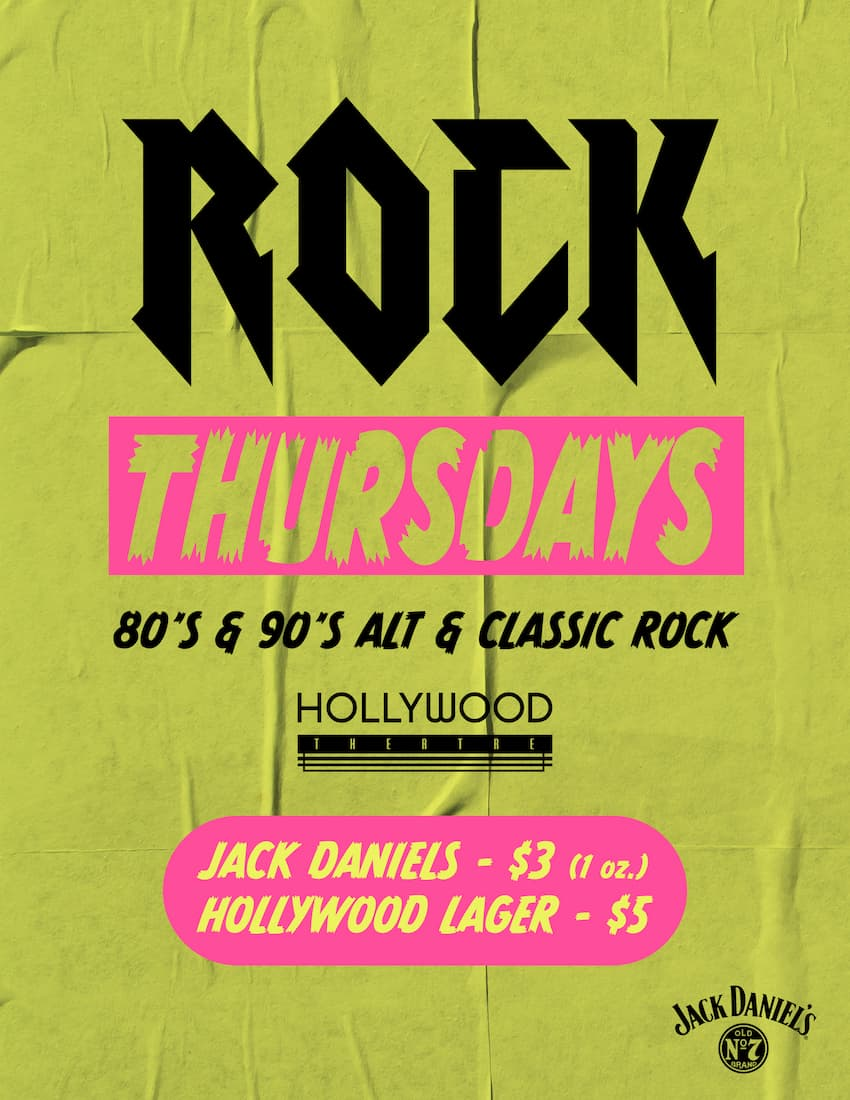 Rock at Hollywood Theatre