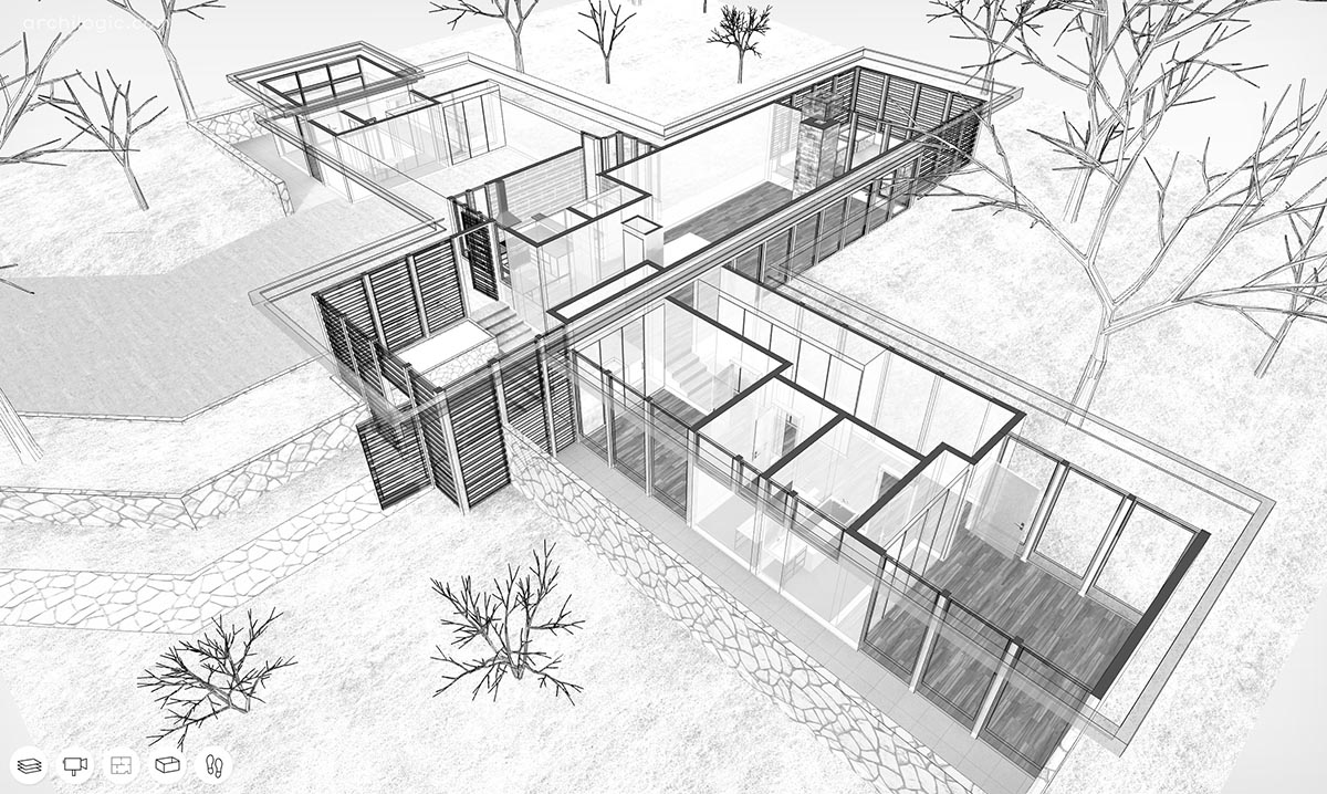 Case Study House #12 by Whitney R. Smith