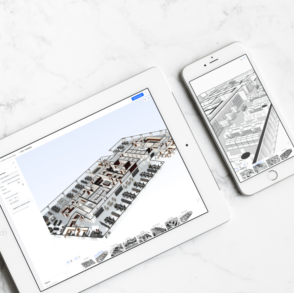 Your 3D floor plan is now faster, easier and more beautiful.