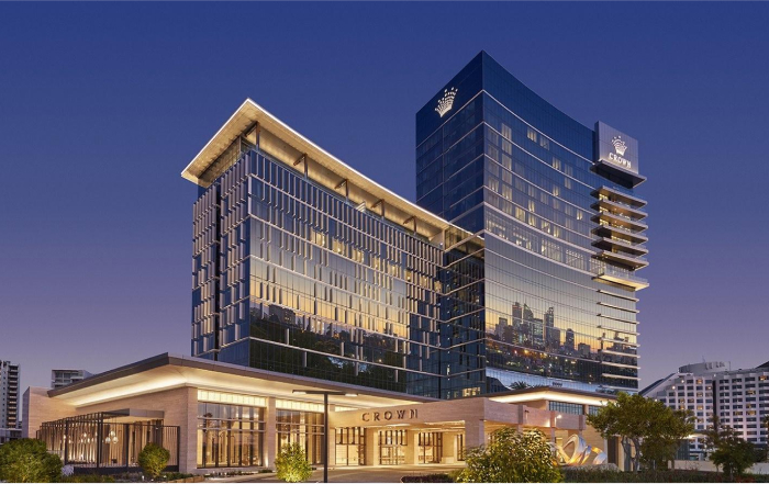 A large modern casino