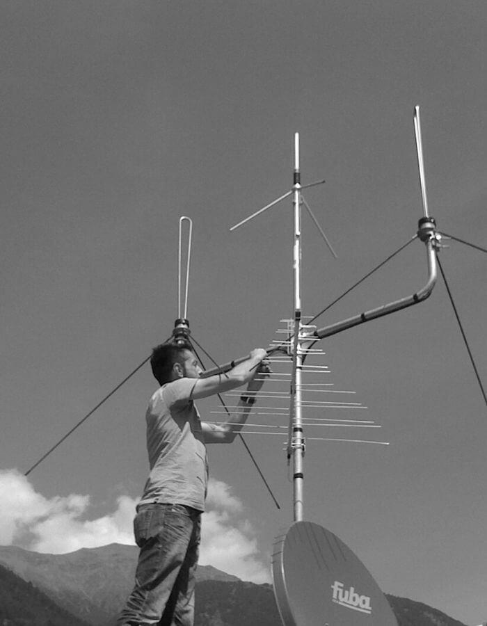 klaus koch elektronik taufers suedtirol funk antennen technik experte vinschgau