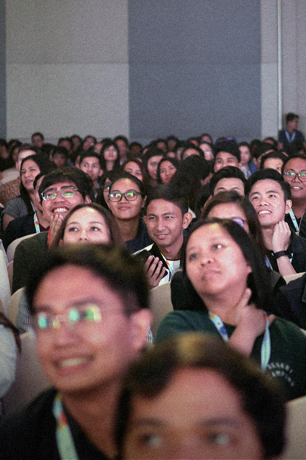 The audience of UX+ Conference 2019
