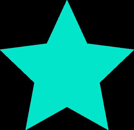 Stern blau
