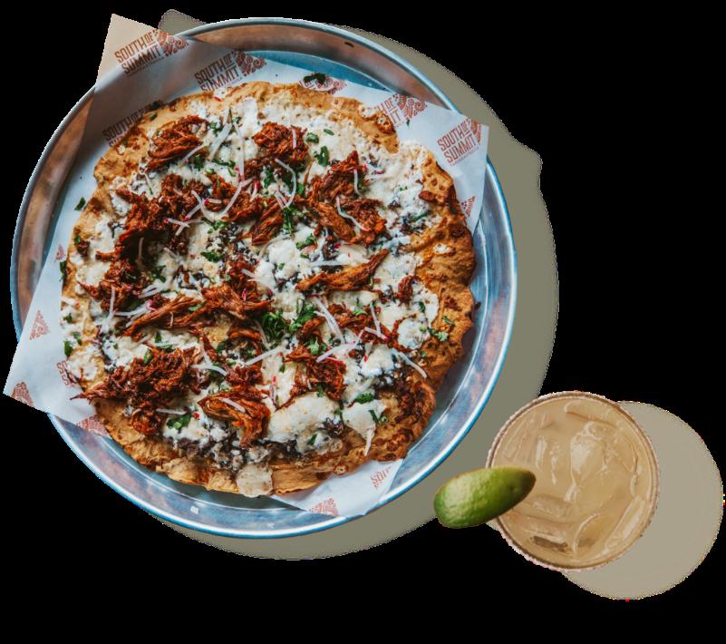 pizza and margarita