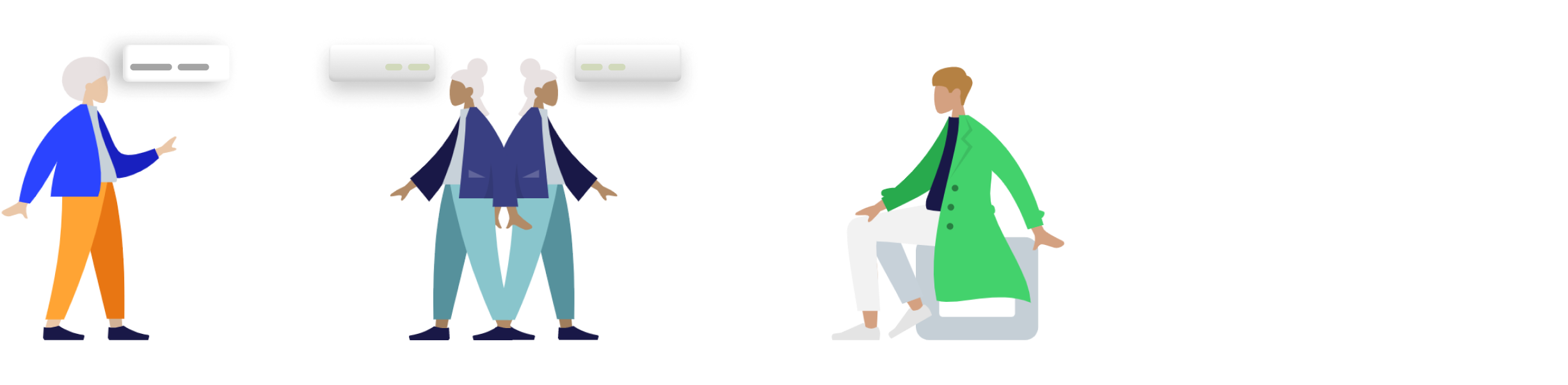 Section Graphic. Describes the sales process