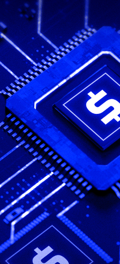 Image of computer CPU with a dollar sign