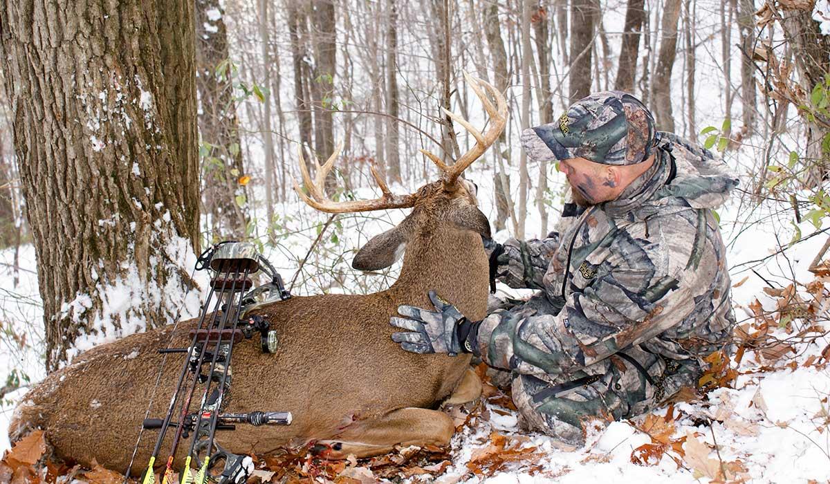 Hunting Late Season Mature Bucks