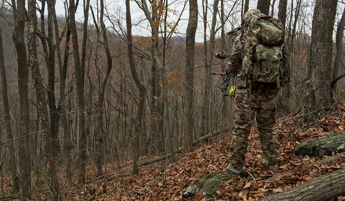 Find cover for late season bucks