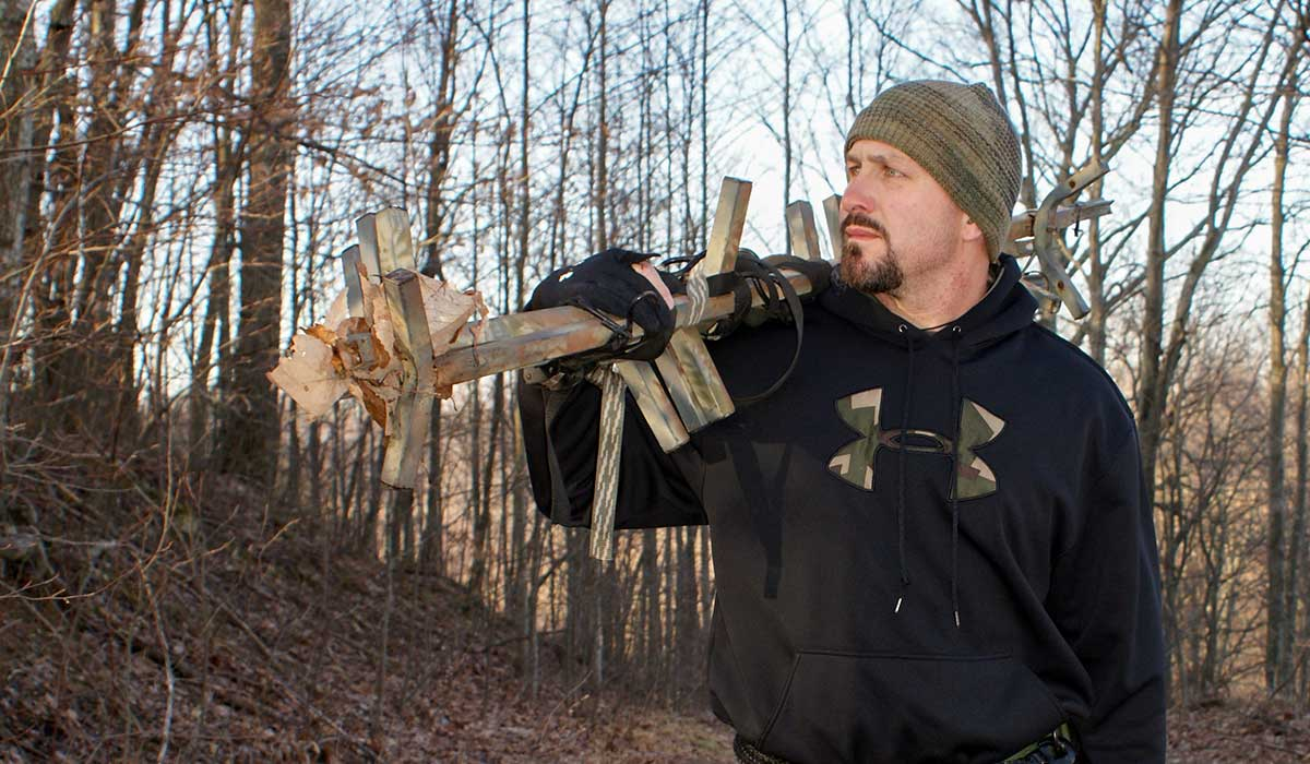 Wind direction and tree stand placement go hand and hand