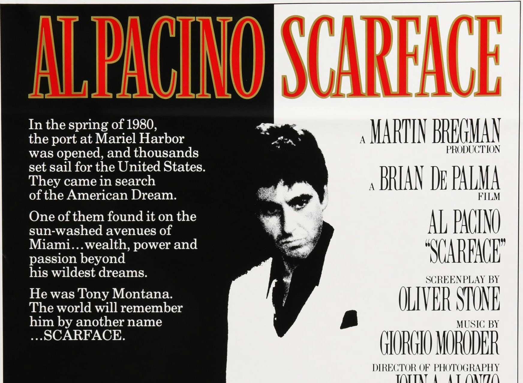 SCARFACE (1983) - EARLY SHOW