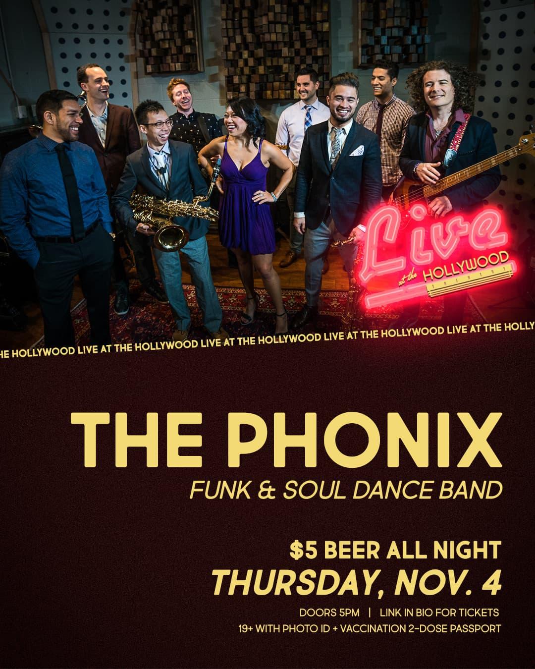 THE PHONIX - Funk & Soul Dance Band