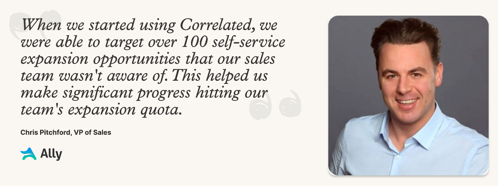 sales leaders use correlated successfully for expansion