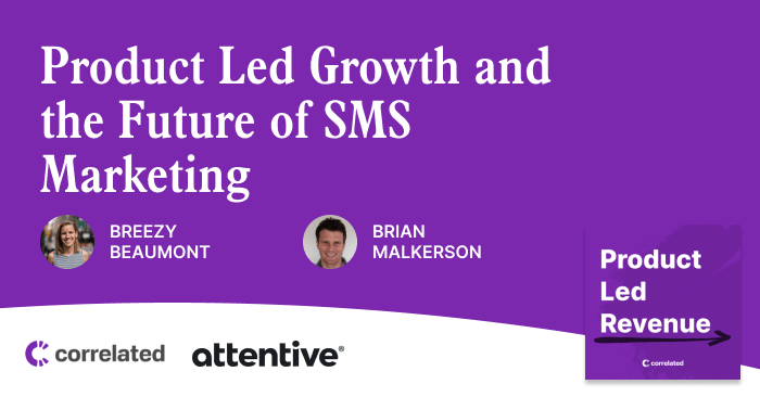 During the episode, Brian and Breezy discuss the past, present, and future of SMS marketing.They also dive into how the team at Attentive is using insights from their customer usage data to drive new revenue opportunities and help their customers be more successful.