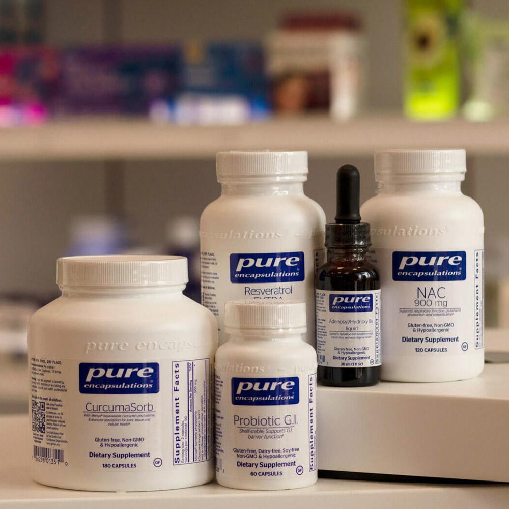 Pure Encapsulations at PureCare Pharmacy