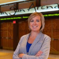 Mohegan Sun Sports Chief – Amber Cox