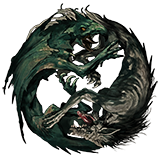 The Wyvern and the Wolf Graphic