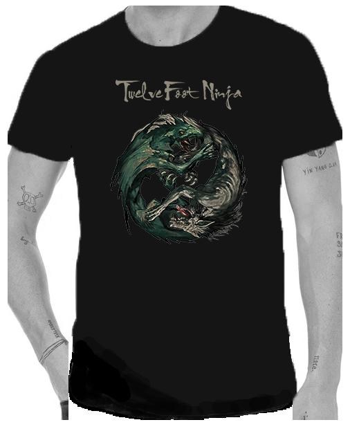 Twelve Foot Ninja Wyvern and the Wolf T Shirt