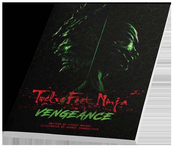 Twelve Foot Ninja Vengeance Comic Book