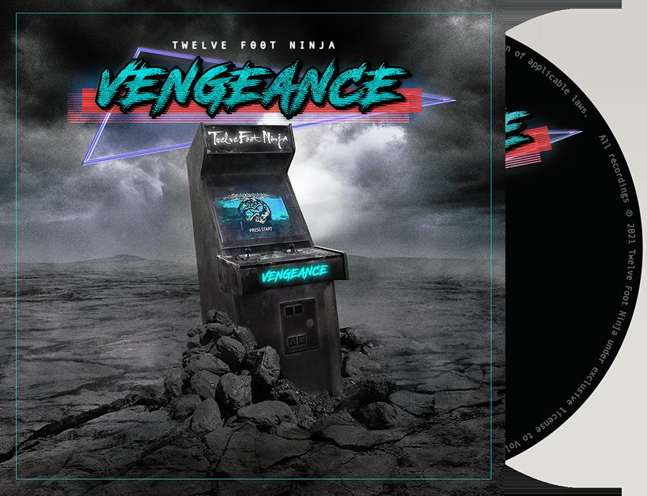 Twelve Foot Ninja - Vengeance Album Cover