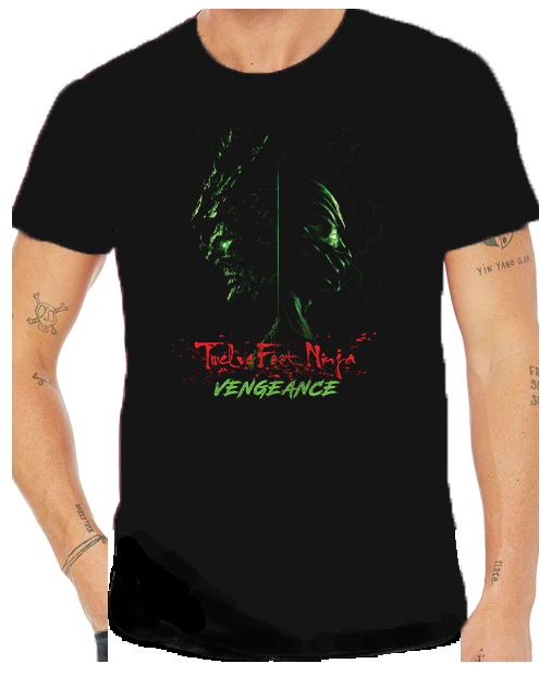 Twelve Foot Ninja Vengeance Comic T Shirt