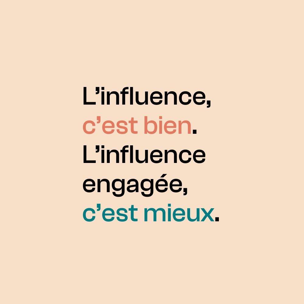 WOÔ lance le mouvement pour une influence plus engagée !