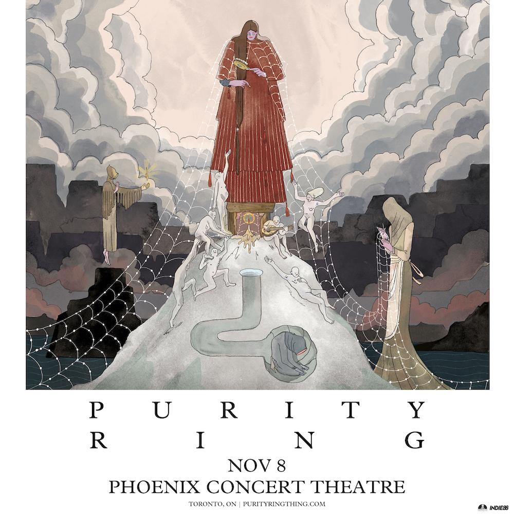Purity Ring – tour de womb