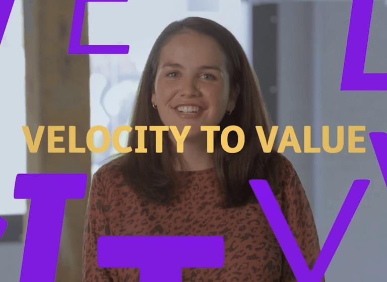 Velocity to value image