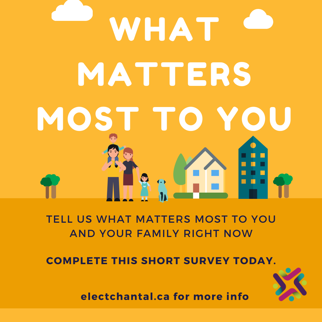 Survey: What Matters Most to You?