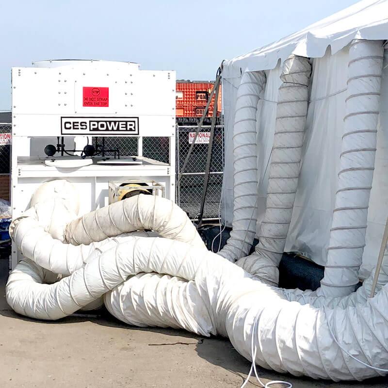 Large event HVAC system.